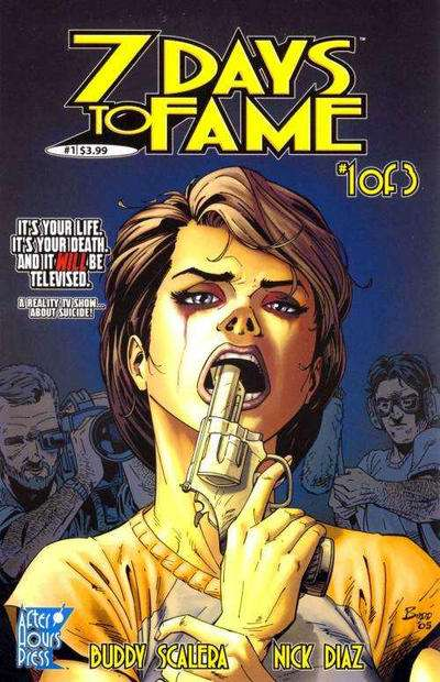 7 Days to Fame comic books