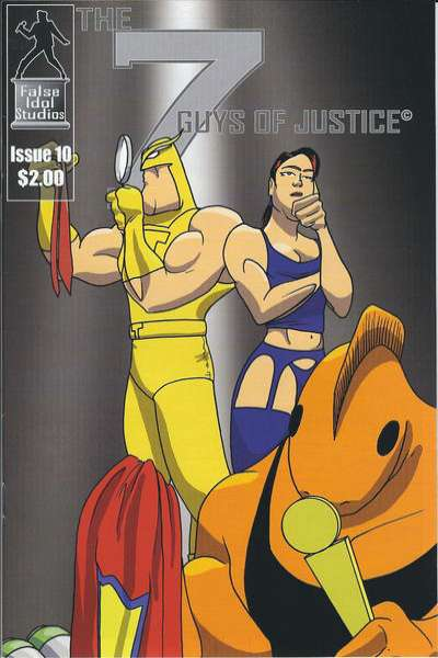 7 Guys of Justice #10 comic books for sale