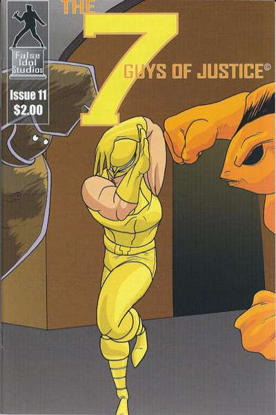 7 Guys of Justice #11 comic books for sale