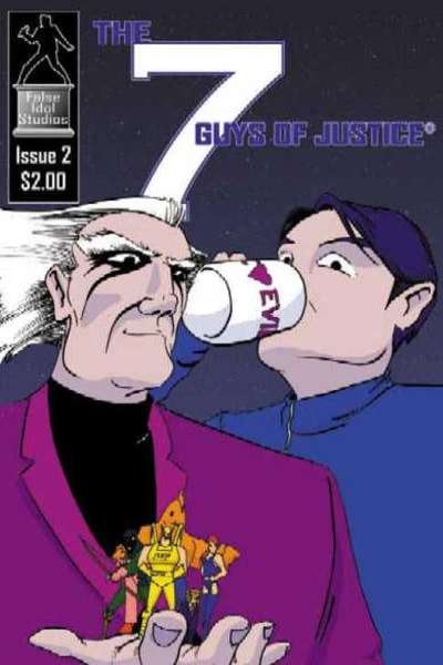 7 Guys of Justice #2 comic books for sale