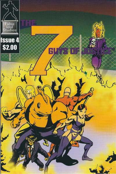 7 Guys of Justice #4 comic books for sale