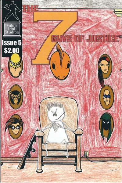 7 Guys of Justice #5 comic books for sale