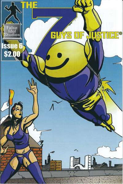 7 Guys of Justice #6 comic books for sale