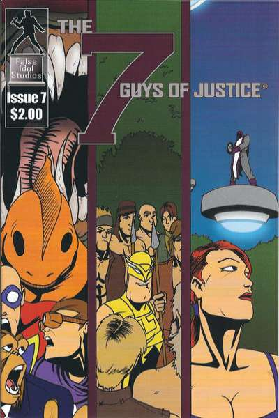 7 Guys of Justice #7 comic books for sale
