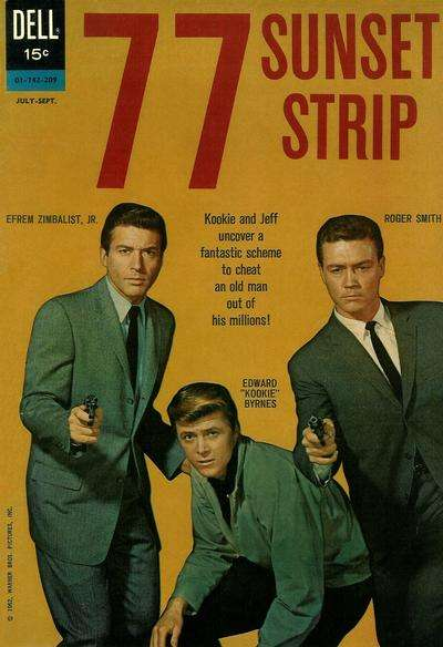 77 Sunset Strip #7 Comic Books - Covers, Scans, Photos  in 77 Sunset Strip Comic Books - Covers, Scans, Gallery