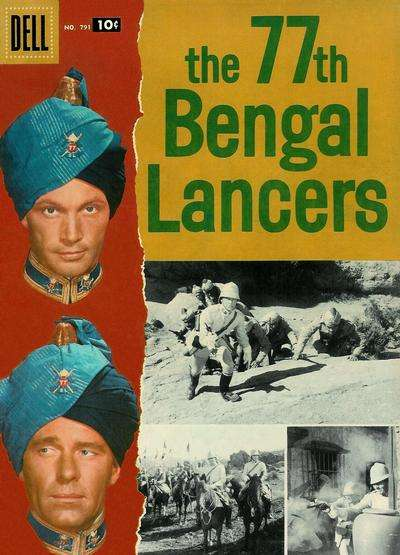 77th Bengal Lancers #1 comic books - cover scans photos 77th Bengal Lancers #1 comic books - covers, picture gallery
