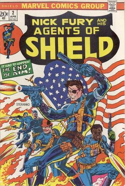 S.H.I.E.L.D. #2 comic books - cover scans photos S.H.I.E.L.D. #2 comic books - covers, picture gallery