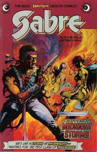 Sabre #6 comic books for sale