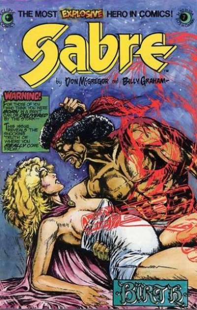 Sabre #7 comic books for sale