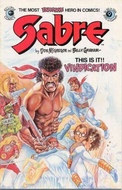Sabre #9 comic books for sale