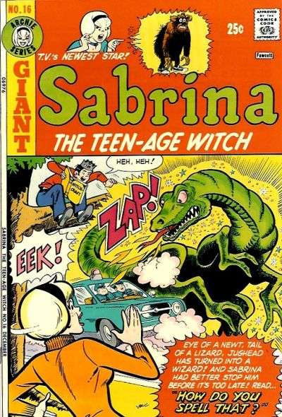 Sabrina the Teenage Witch #16 comic books - cover scans photos Sabrina the Teenage Witch #16 comic books - covers, picture gallery