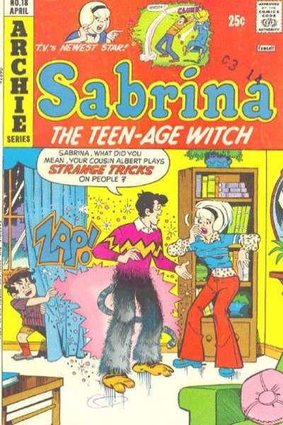 Sabrina the Teenage Witch #18 comic books for sale