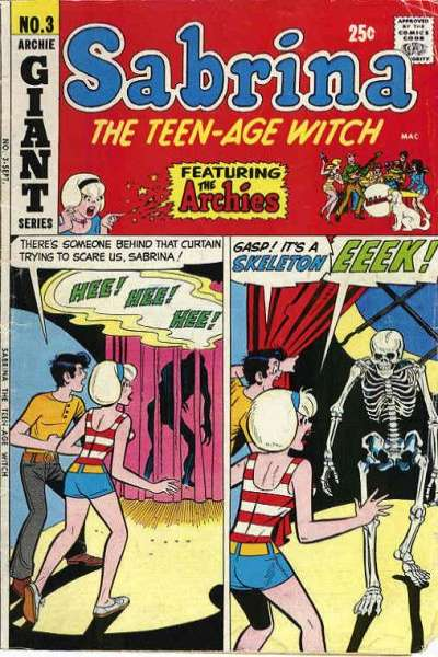 Sabrina the Teenage Witch #3 Comic Books - Covers, Scans, Photos  in Sabrina the Teenage Witch Comic Books - Covers, Scans, Gallery