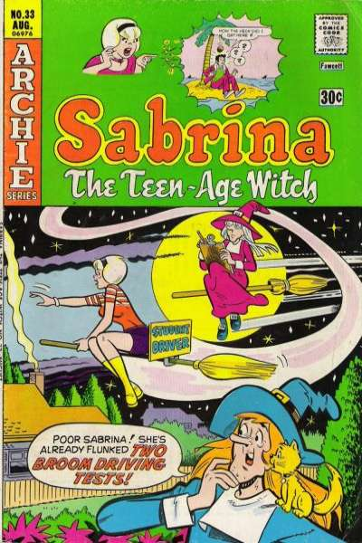 Sabrina the Teenage Witch #33 comic books - cover scans photos Sabrina the Teenage Witch #33 comic books - covers, picture gallery