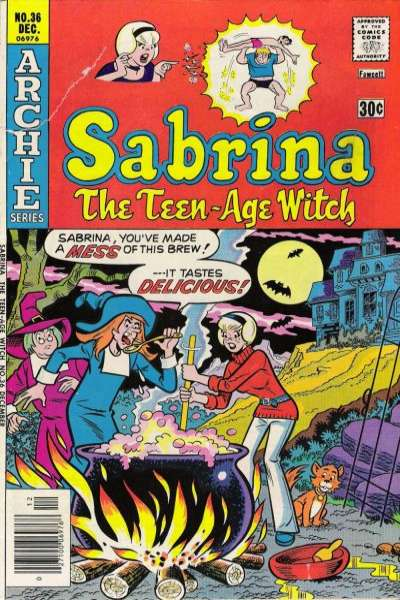 Sabrina the Teenage Witch #36 comic books for sale