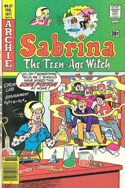 Sabrina the Teenage Witch #37 comic books - cover scans photos Sabrina the Teenage Witch #37 comic books - covers, picture gallery