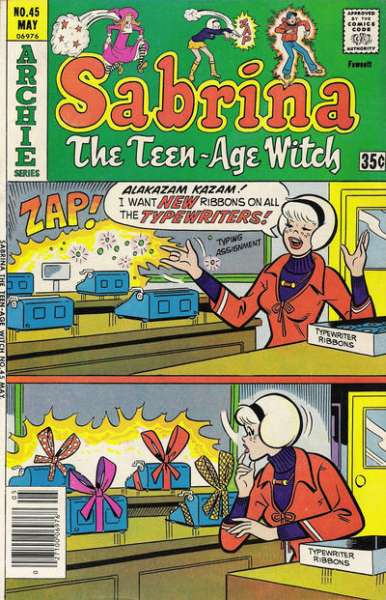 Sabrina the Teenage Witch #45 comic books for sale