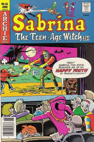 Sabrina the Teenage Witch #46 comic books - cover scans photos Sabrina the Teenage Witch #46 comic books - covers, picture gallery
