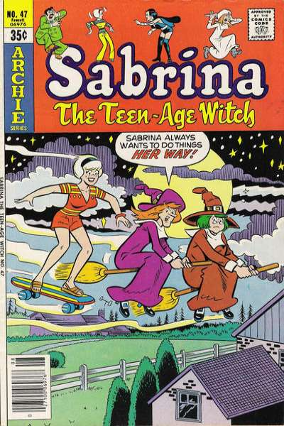 Sabrina the Teenage Witch #47 comic books - cover scans photos Sabrina the Teenage Witch #47 comic books - covers, picture gallery