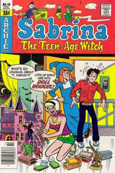 Sabrina the Teenage Witch #49 comic books - cover scans photos Sabrina the Teenage Witch #49 comic books - covers, picture gallery