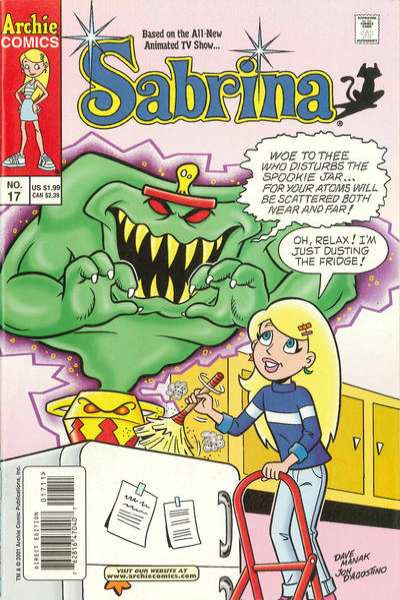 Sabrina #17 Comic Books - Covers, Scans, Photos  in Sabrina Comic Books - Covers, Scans, Gallery