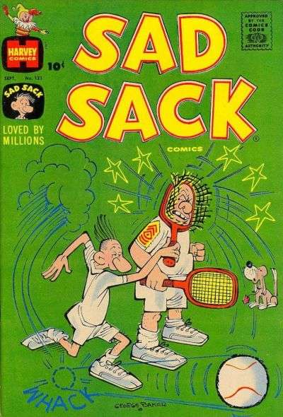 Sad Sack Comics #121 comic books for sale