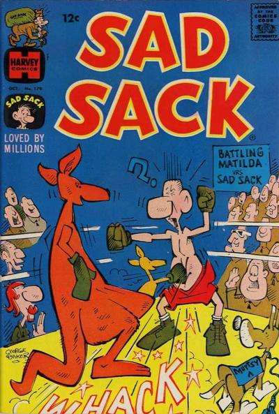 Sad Sack Comics #170 comic books for sale