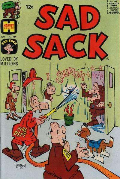 Sad Sack Comics #189 comic books for sale