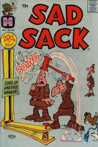 Sad Sack Comics #200 comic books for sale