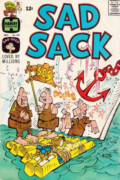 Sad Sack Comics #201 comic books for sale