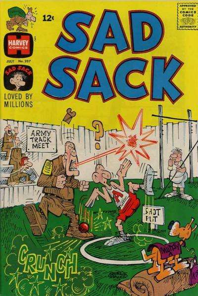 Sad Sack Comics #207 comic books for sale