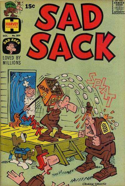 Sad Sack Comics #209 comic books for sale