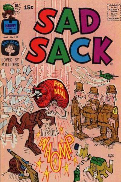 Sad Sack Comics #220 comic books for sale