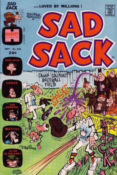 Sad Sack Comics #234 comic books for sale