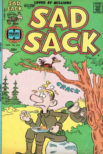 Sad Sack Comics #253 comic books for sale
