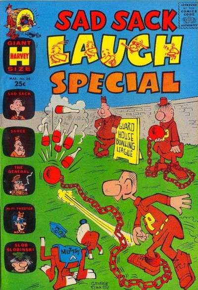 Sad Sack Laugh Special #24 Comic Books - Covers, Scans, Photos  in Sad Sack Laugh Special Comic Books - Covers, Scans, Gallery