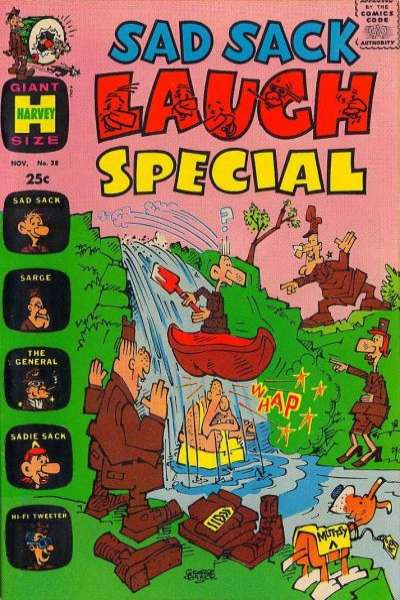 Sad Sack Laugh Special #38 Comic Books - Covers, Scans, Photos  in Sad Sack Laugh Special Comic Books - Covers, Scans, Gallery