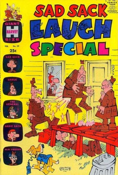 Sad Sack Laugh Special #39 Comic Books - Covers, Scans, Photos  in Sad Sack Laugh Special Comic Books - Covers, Scans, Gallery