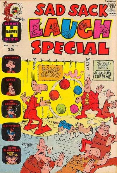 Sad Sack Laugh Special #42 Comic Books - Covers, Scans, Photos  in Sad Sack Laugh Special Comic Books - Covers, Scans, Gallery