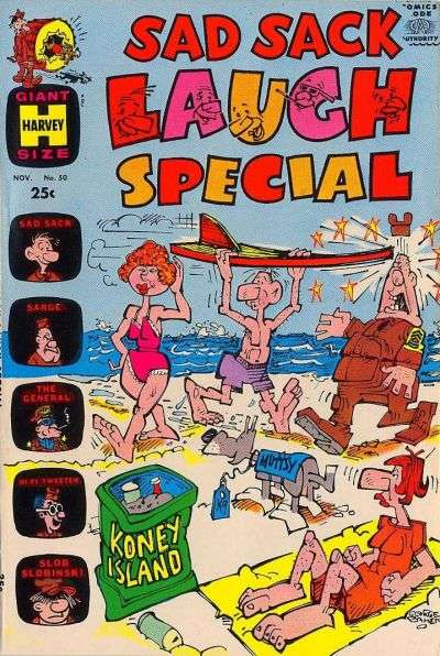 Sad Sack Laugh Special #50 Comic Books - Covers, Scans, Photos  in Sad Sack Laugh Special Comic Books - Covers, Scans, Gallery