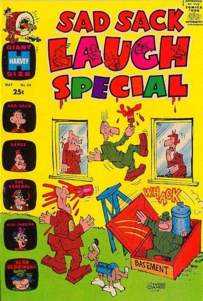 Sad Sack Laugh Special #53 Comic Books - Covers, Scans, Photos  in Sad Sack Laugh Special Comic Books - Covers, Scans, Gallery
