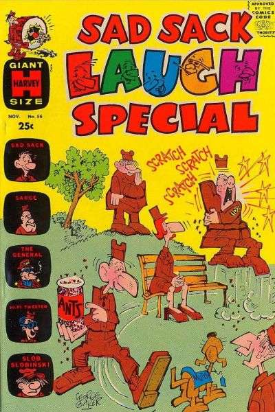 Sad Sack Laugh Special #56 Comic Books - Covers, Scans, Photos  in Sad Sack Laugh Special Comic Books - Covers, Scans, Gallery