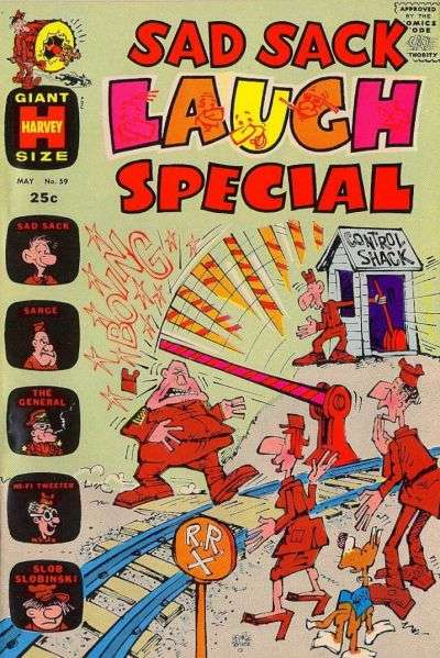 Sad Sack Laugh Special #59 comic books for sale