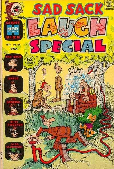 Sad Sack Laugh Special #67 Comic Books - Covers, Scans, Photos  in Sad Sack Laugh Special Comic Books - Covers, Scans, Gallery