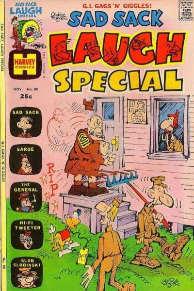 Sad Sack Laugh Special #80 comic books for sale