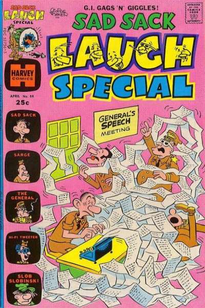 Sad Sack Laugh Special #88 comic books - cover scans photos Sad Sack Laugh Special #88 comic books - covers, picture gallery
