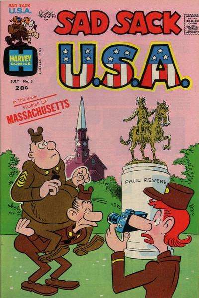 Sad Sack U.S.A. #5 comic books for sale