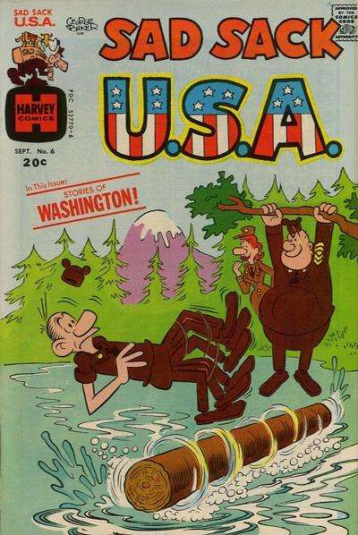 Sad Sack U.S.A. #6 Comic Books - Covers, Scans, Photos  in Sad Sack U.S.A. Comic Books - Covers, Scans, Gallery