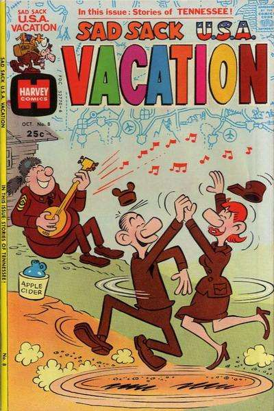 Sad Sack U.S.A. #8 Comic Books - Covers, Scans, Photos  in Sad Sack U.S.A. Comic Books - Covers, Scans, Gallery