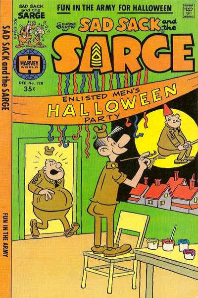 Sad Sack and The Sarge #128 comic books for sale